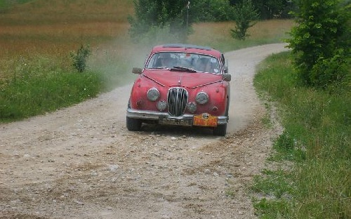 129 Richard Worts(GB) / Nicola Shackleton(GB) 1961 - Jaguar MkII poj.3794